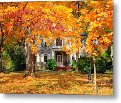 Fort Hunter Autumn Metal Print