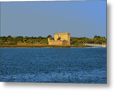 Fort Matanzas - Saint Augustine Florida Metal Print by Christine Till