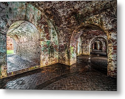 Fort Pike Metal Print by Andy Crawford