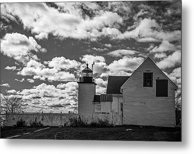 Fort Point Lighthouse Metal Print by Robert Clifford