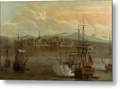 Fort St George In Madras Metal Print by British Library