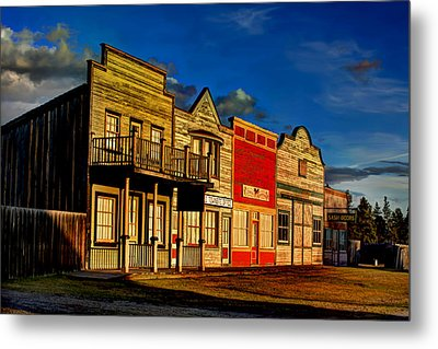 Metal Print featuring the photograph Fort Steele by Rob Tullis