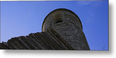 Fort Tower 1 Metal Print by Chris Thomas