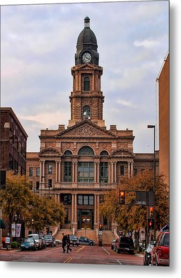 Fort Worth Courthouse Metal Print