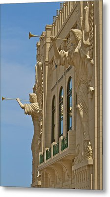 Fort Worth's Angels Metal Print