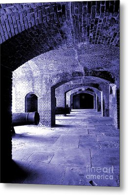 Fort Zachary Taylor2 Metal Print by Claudette Bujold-Poirier