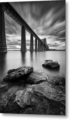 Forth Bridge Metal Print