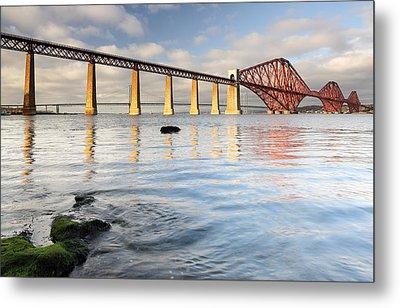 Forth Railway Bridge Metal Print by Grant Glendinning