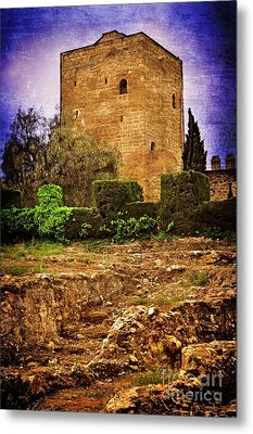 Fortress Tower Metal Print by Mary Machare