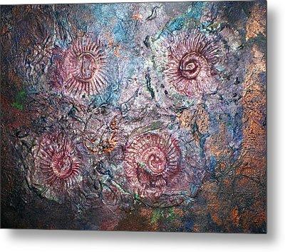 Fossils 1 Metal Print by Carol Rowland