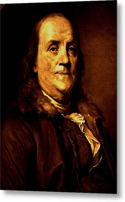 Founding Father Metal Print by Benjamin Yeager
