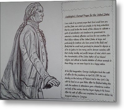 Founding Fathers Metal Print by Christy Saunders Church