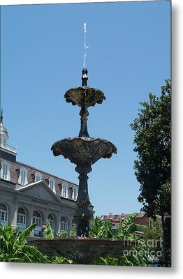 Fountain  Metal Print by Robin Maria Pedrero