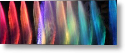 Fountains Of Color Metal Print by James Eddy
