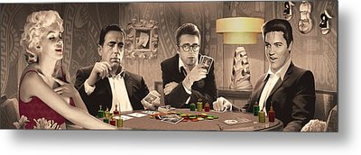 Four Of A Kind Metal Print by Chris Consani
