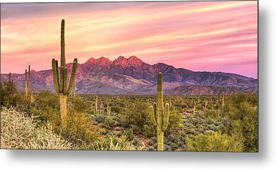 Four Peaks  Metal Print by Anthony Citro