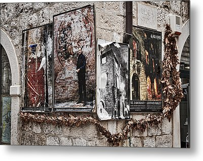 Four Posters Metal Print by Stuart Litoff