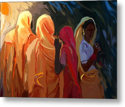 Four Women Metal Print