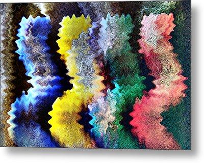 Fourcolore Metal Print by Armin Schumm