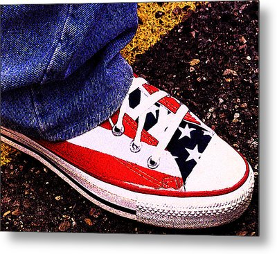 Fourth Of July Connies Metal Print by Ron Regalado