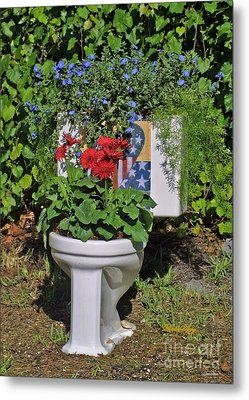 Fourth Of July Loo Metal Print