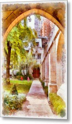 Fourth Presbyterian - A Chicago Sanctuary Metal Print by Christine Till