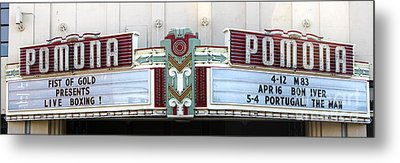 Fox Theater - Pomona - 09 Metal Print by Gregory Dyer