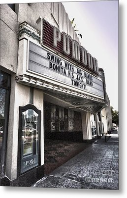 Fox Theater - Pomona - 10 Metal Print by Gregory Dyer