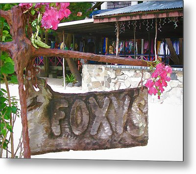 Foxy's 2 Metal Print by Gordon Engebretson