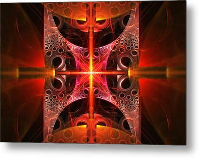 Fractal - Science - Cold Fusion Metal Print by Mike Savad