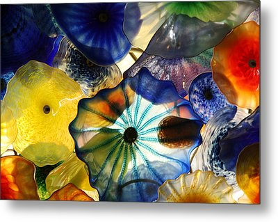Fragile Flower Metal Print by Alicia Kent