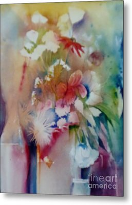 Fragile Flowers Metal Print by Donna Acheson-Juillet
