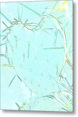Metal Print featuring the photograph Fragile Heart by Roselynne Broussard