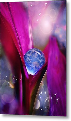 Fragile Metal Print by John Rivera