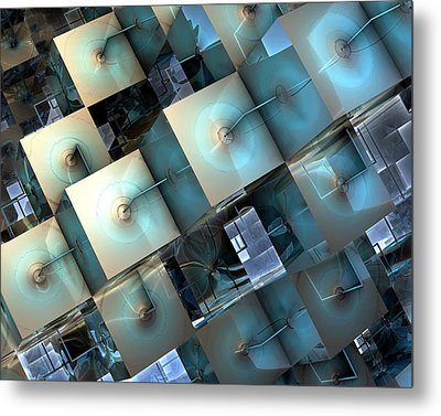 Fragmentary Metal Print by Kevin Trow