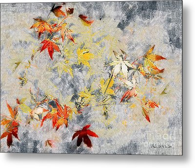 Fragments Of Fall Metal Print by RC deWinter