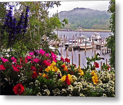 Fragrant Marina Metal Print