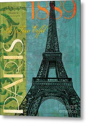 Francaise 1 Metal Print by Debbie DeWitt