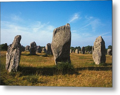 France Brittany Carnac Ancient Megaliths  Metal Print