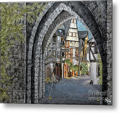 France Metal Print by Mylene Le Bouthillier