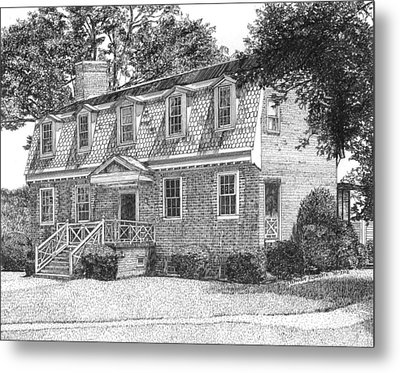 Francis Land House Metal Print by Stephany Elsworth