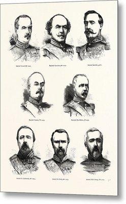 Franco-prussian War French Commanders General Frossard, 2nd Metal Print