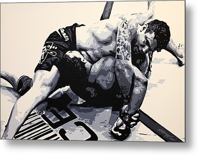 Frank Mir V Big Nog Metal Print