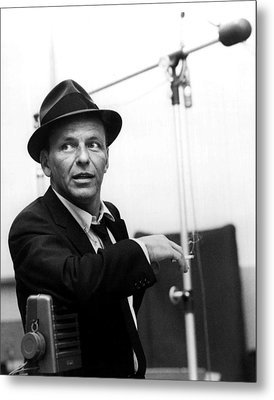 Frank Sinatra Metal Print by Retro Images Archive