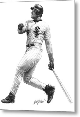 Frank Thomas Metal Print by Harry West