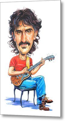 Frank Zappa Metal Print by Art