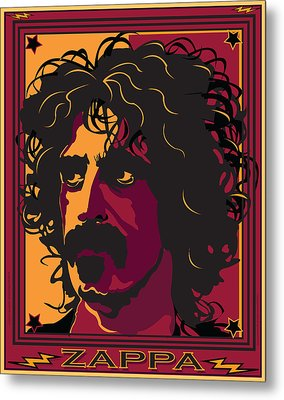 Frank Zappa Metal Print by Larry Butterworth