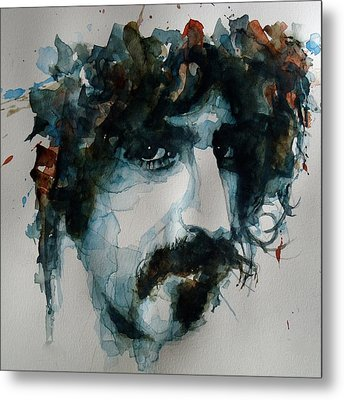 Frank Zappa Metal Print by Paul Lovering