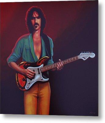 Frank Zappa Metal Print by Paul Meijering