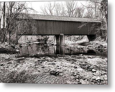 Frankenfield Bridge Over The Tinicum Creek Metal Print